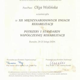 dr n. o zdr. Olga Wolińska