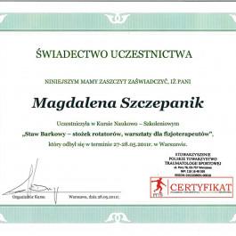 dr n. o zdr. Magdalena Szczepanik