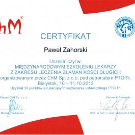 Lek. Paweł Zahorski