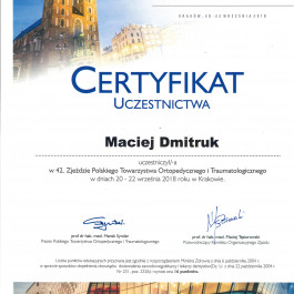 Lek. Maciej Dmitruk
